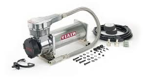Kompresor VIAIR 485C Chrom - gen. 2 - GRUBYGARAGE - Sklep Tuningowy